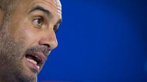 Guardiola will mehr als nur Tore von Lewandowski