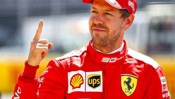 Vettel rast überraschend auf Startplatz eins