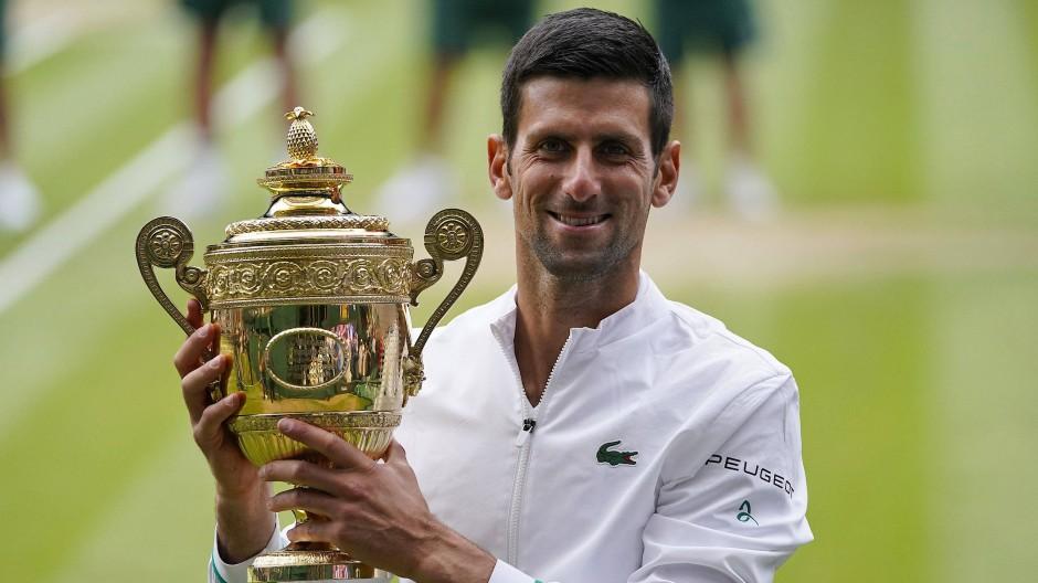 Novak Djokovic Triumphiert In Wimbledon Gegen Matteo Berrettini