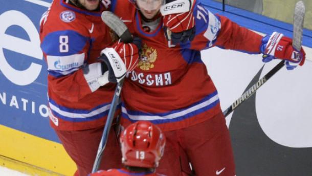 Russen, Schweden und Schweizer erreichen Viertelfinale
