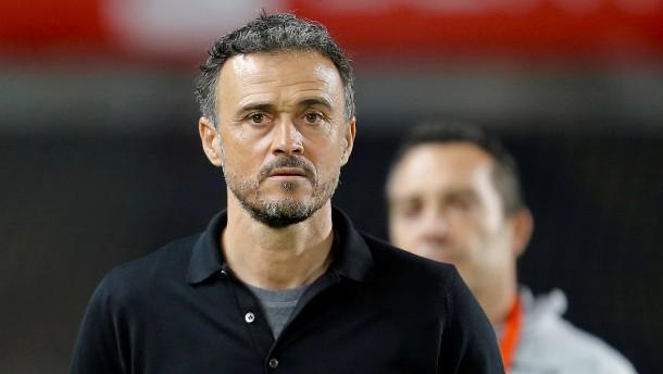 Luis Enrique kehrt auf den Trainerstuhl zurück