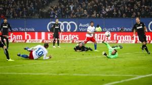 Das späte Glück des Hamburger SV