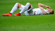 Angst vor dem Abstieg: Jonathan Schmid vom SC Freiburg