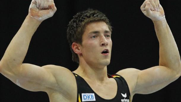 Philipp Boy erkämpft Silber im Mehrkampf