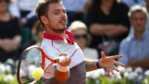 Wawrinka schlägt Federer
