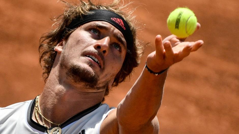 Guter Start in Rom: Alexander Zverev