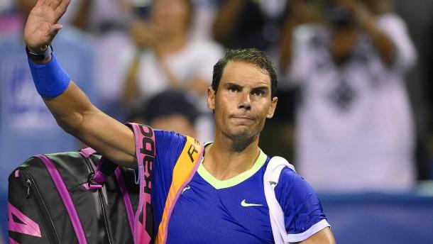 Rafael Nadal muss seine Saison beenden