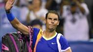 Rafael Nadal tritt vorerst ab.