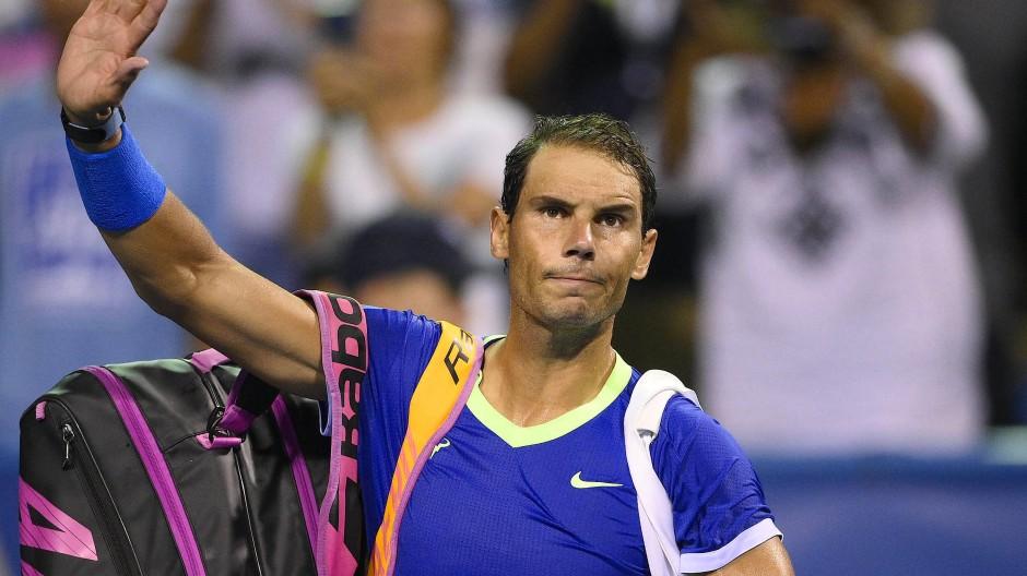 Das war's für dieses Jahr: Rafael Nadal tritt vorerst ab.