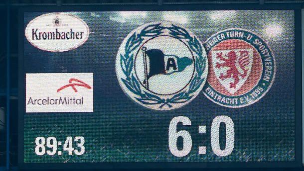 Resultado de imagem para Bielefeld 6-0 Braunschweig