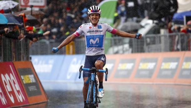 Der erste Etappen-Sieger aus Ecuador