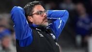 Sah kein Tor seiner Mannschaft: Schalke-Trainer David Wagner in Mainz