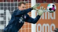 Zupackender Typ: Bayerns Towart Manuel Neuer