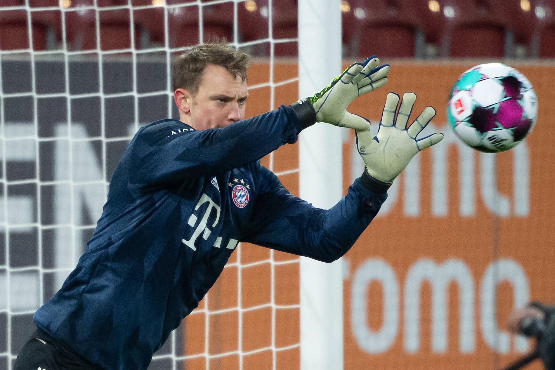 Fc Bayern Manuel Neuers Bestmarke Bei Zu Null Spielen