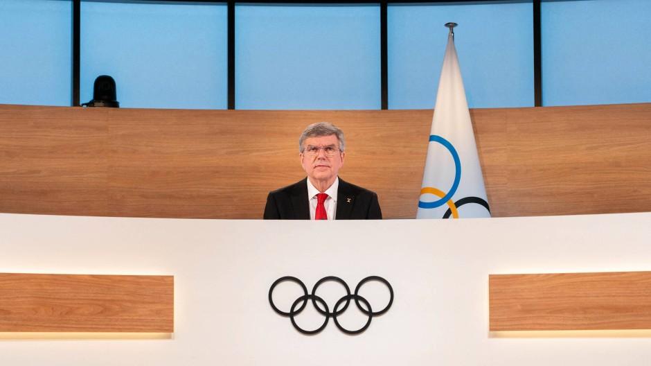 Herr der Ringe: Thomas Bach ist als IOC-Präsident wiedergewählt worden.