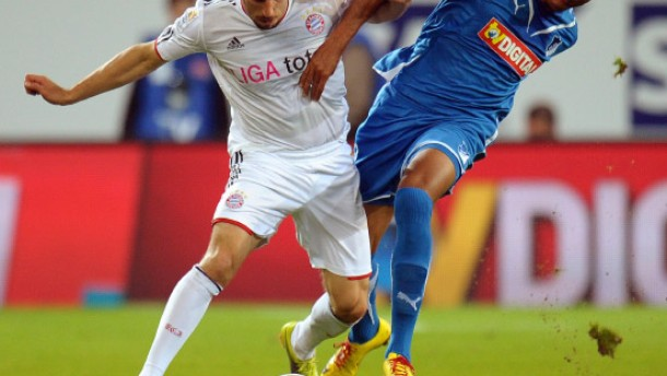 Luiz Gustavo und Franck Ribery