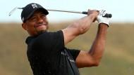 Ist schon lange nicht mehr der Beste: Altmeister Tiger Woods