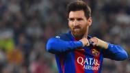 Lionel Messi fehlen nur nur noch zwei Treffer, um die Marke von 500 Pflichtspieltoren für den FC Barcelona zu erreichen – am liebsten gegen Juventus.