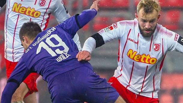 Furioses Spiel mit vielen Toren in Regensburg