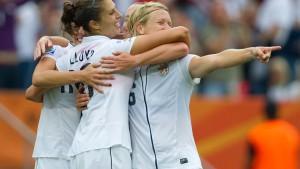 Die Vereinigten Staaten folgen Schweden ins Viertelfinale