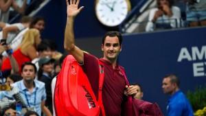 Federer scheitert in der Hitze der Nacht