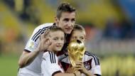 Aus und vorbei: Miroslav Klose spielt nicht mehr für die DFB-Elf
