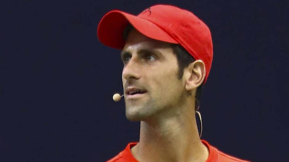 """Zur Impfung sagt Novak Djokovic: """"Das ist eine Privatsache""""."""
