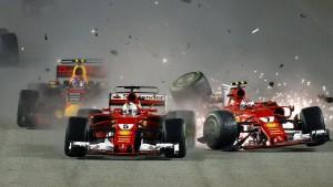 K.o. in der ersten Runde für Ferrari