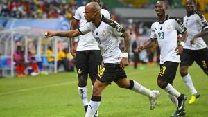 Ghana startet mit Sieg