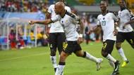 Getroffen: Andre Ayew hat ein Tor erzielt