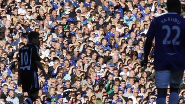 Englische Fans im Formtief