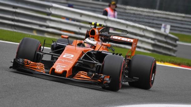 McLarens Rennen der Hoffnung