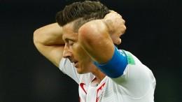 Auch Lewandowski kann Polen nicht mehr helfen