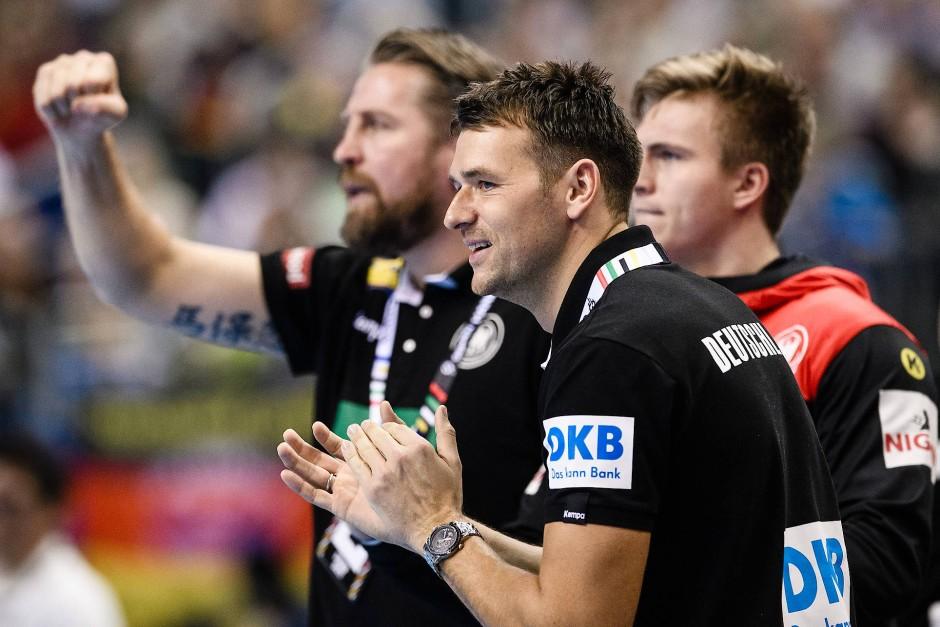 Der erste Schritt: Bundestrainer Christian Prokop ist mit dem ersten Auftritt bei der Handball-WM zufrieden.