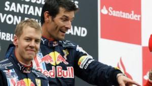 Mark Webber - Vettels Rivale aus der eigenen Box