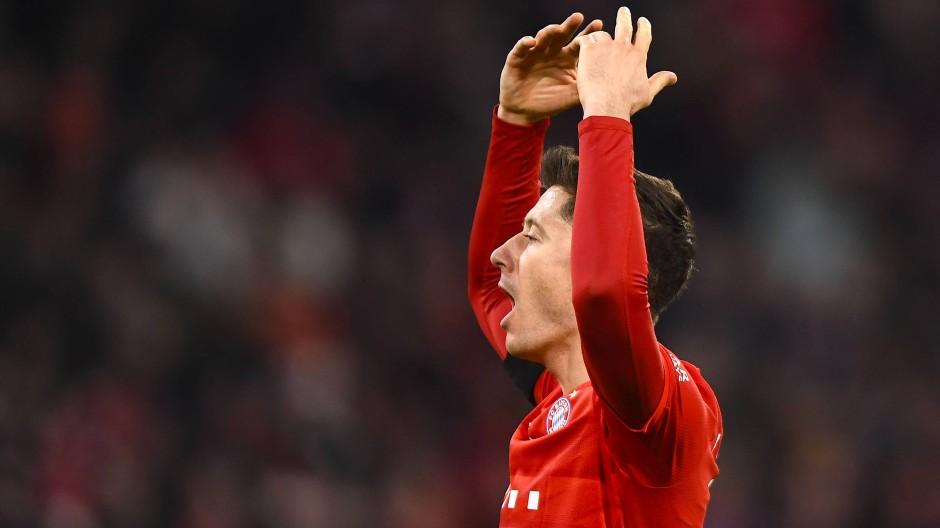 Sorgte mit zwei Treffern für den Sieg: Münchens Robert Lewandowski.