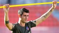 Alvaro Morata spielt bald wieder für Juventus Turin.