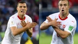 Schweizer Sieg mit provozierender Geste