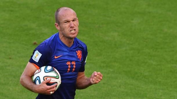Robben läuft für Holland rund