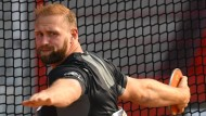Der Altmeister: Robert Harting holt sich in Erfurt seinen zehnten deutschen Meistertitel.