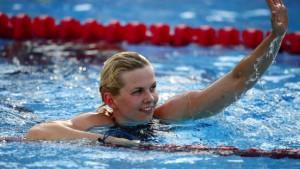 Britta Steffen holt auch Gold über 50 Meter