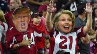 Zwei Siegertypen: Ein Unentschieden ist auch bei der Präsidentenwahl ausgeschlossen.