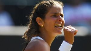 Görges folgt Kerber ins Wimbledon-Halbfinale