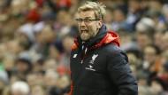 Klopp und Liverpool müssen abermals ins Wiederholungsspiel