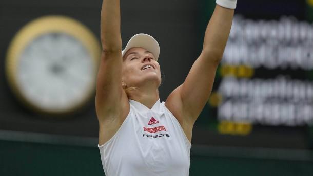 Angelique Kerber auf Traumreise in Wimbledon