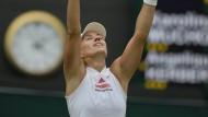 Kerber darf vom zweiten Wimbledonsieg träumen.