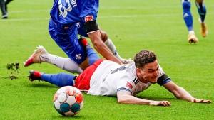 Der HSV kommt nicht voran in der zweiten Liga