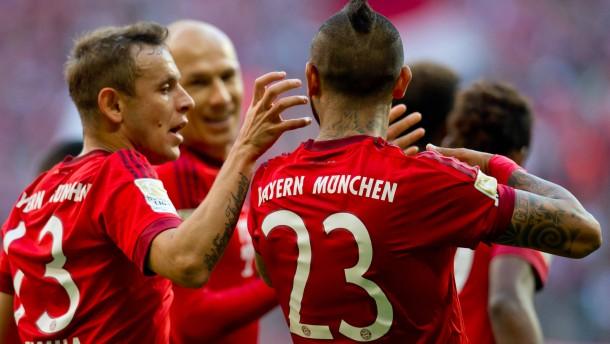 Die Bayern machen die Tausend voll
