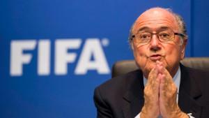 Blatter droht ein explosiver Konflikt