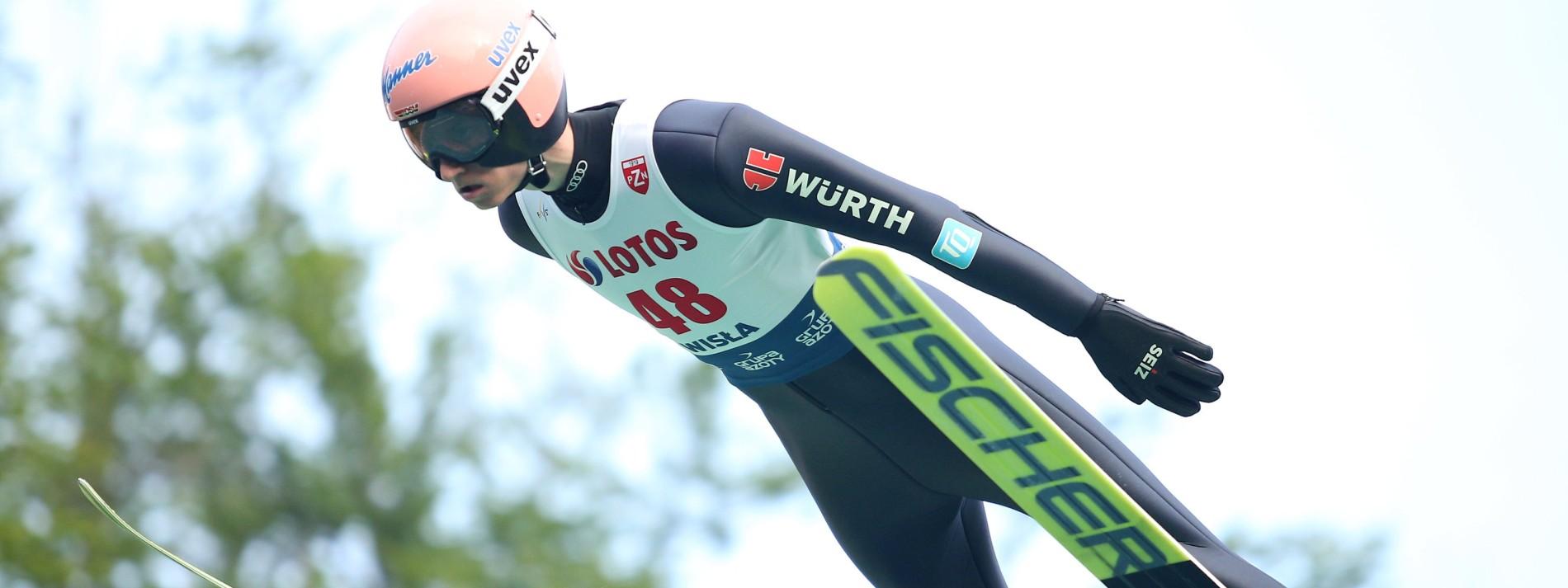 """Karl Geiger ist """"Skisportler des Jahres"""""""